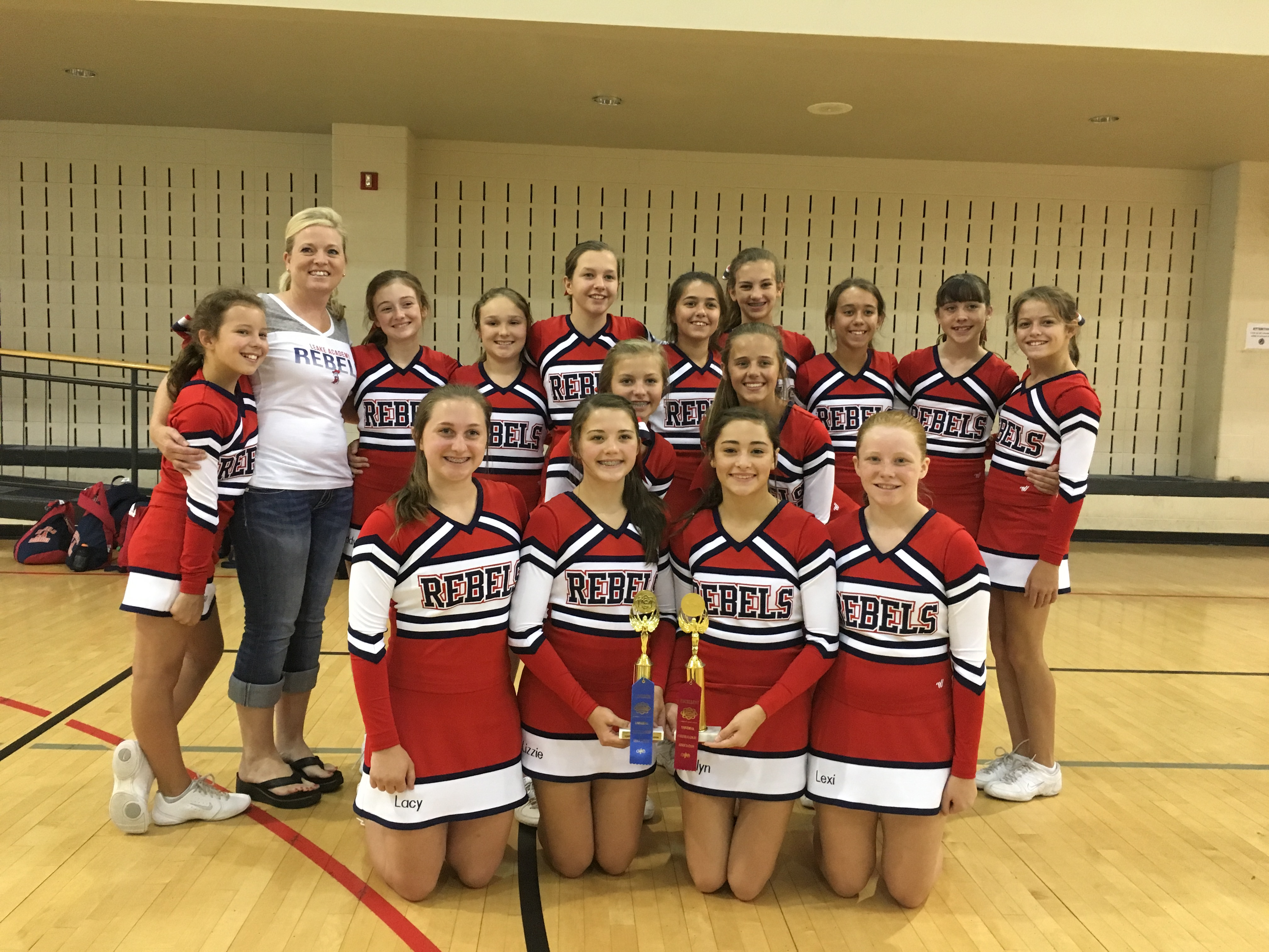 Junior High Cheerleaders | Leake Academy