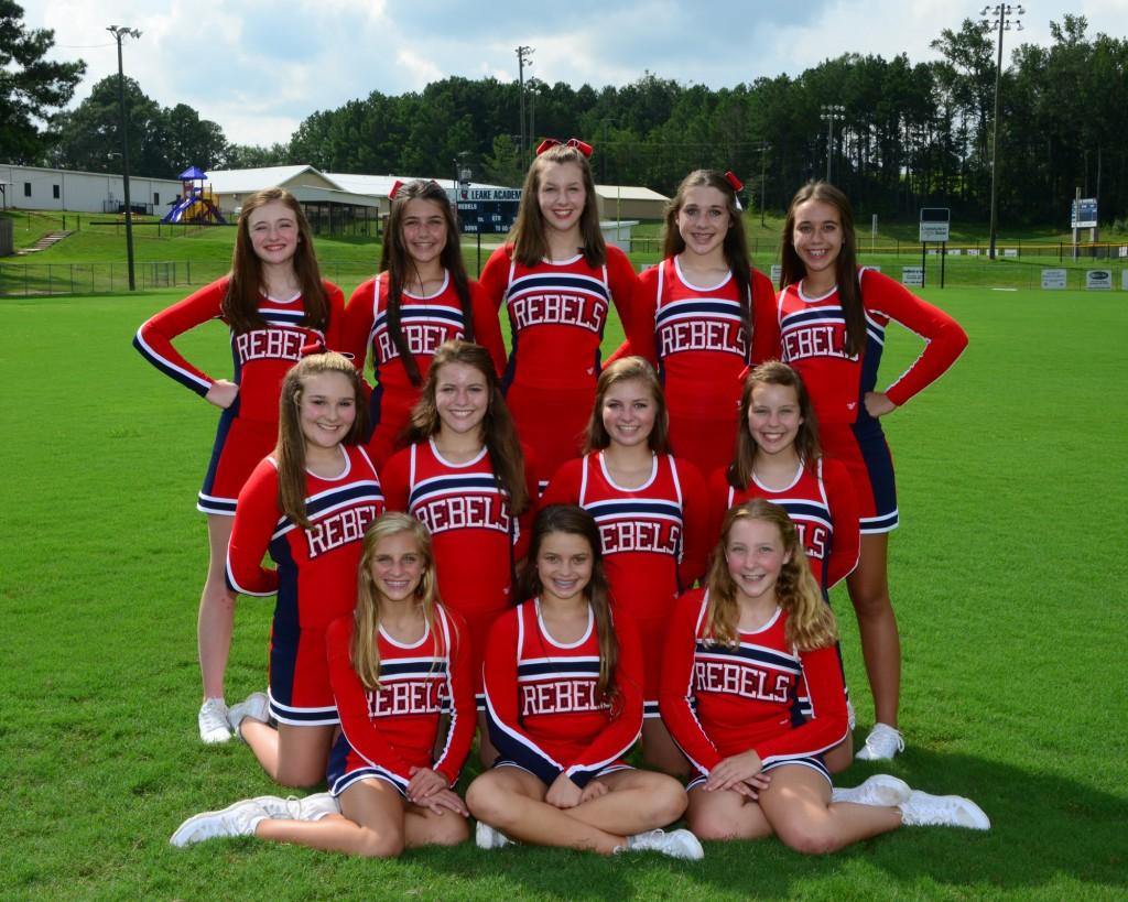 Junior High Cheerleaders – Leake Academy